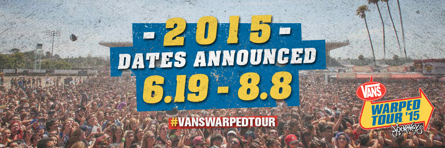 how to get your band on warped tour